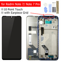 Para Xiaomi Redmi Nota 7 Pro Display LCD com Frame Touch Screen Digitador Display LCD Redmi Note7 Pro Peças de Reparo(China)