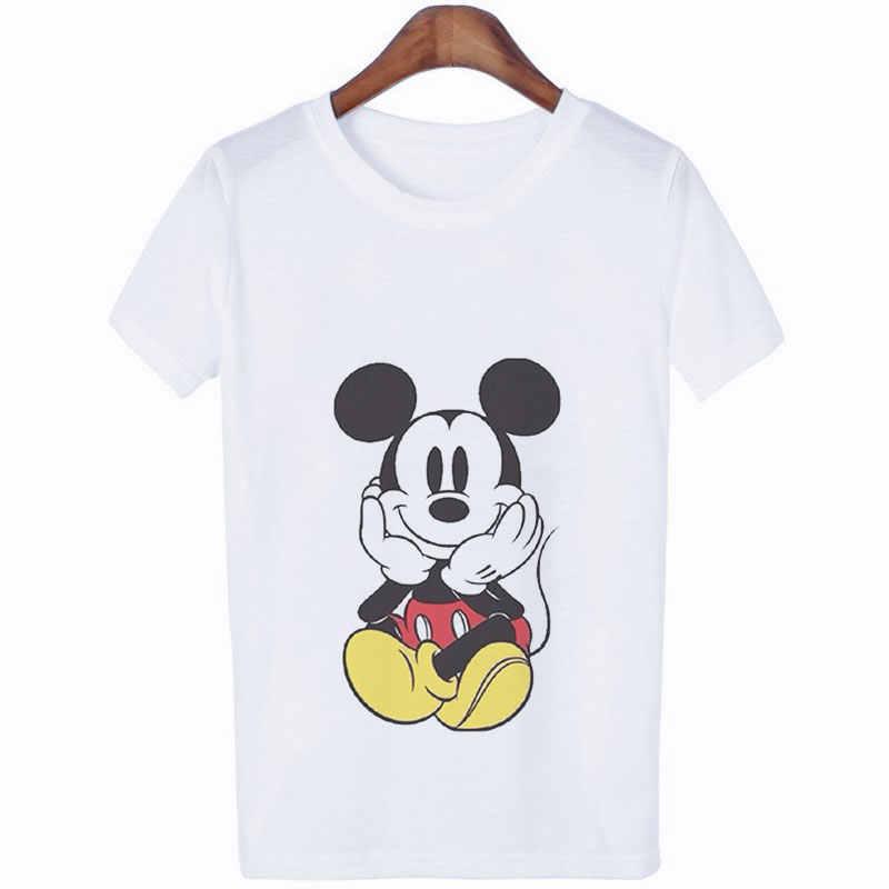 Verão 2020 camisetas de impressão de rato camisetas femininas tumblr streetwear vogue tshirt kawaii harajuku casual das senhoras t camisa
