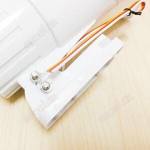 Image 5 - 2 لهجة زمارة و صفارة 150dB بصوت عال عالية حجم الأبيض ABS بوق إنذار DC 12V التسلل سيارة السلامة النار الأمن مكبرات صوت