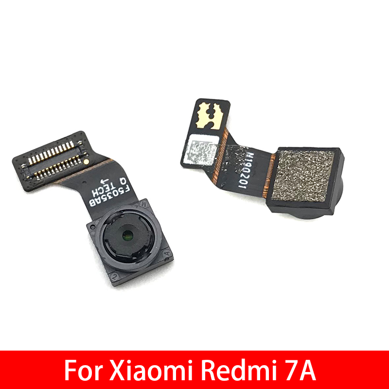 Tested Camera Module For Xiaomi Redmi 7A Small Front Camera Flex Cable Module Replacement Spare Parts