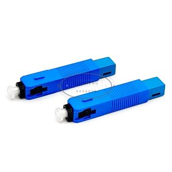цена на SC UPC Single-Mode Fiber Optic Quick Connector FTTH SM Optic Fast Connector