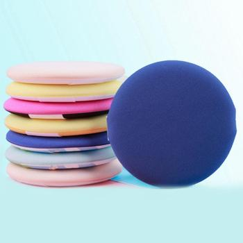 1 Pcs Round Shape BB Cream Powder Puff  Smooth Women's Makeup Foundation Sponge Portable Soft Cosmetic Puff  Random Color