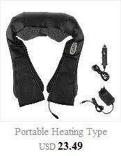 massageador casa pescoço amassar pulso aquecimento elétrico