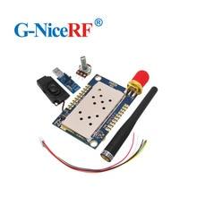 2 מודול קול סטים\מארז All in One להקת UHF 400 480 MHz מכשיר קשר SA828