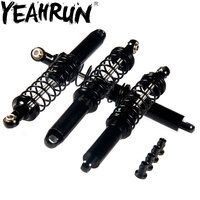 YEAHRUN 1/2/4pcs 90mm Black Ajustable Shock Absorber for 1/10 RC TRX 4 Wraith SCX10 D90 Cars|Parts & Accessories|Toys & Hobbies -