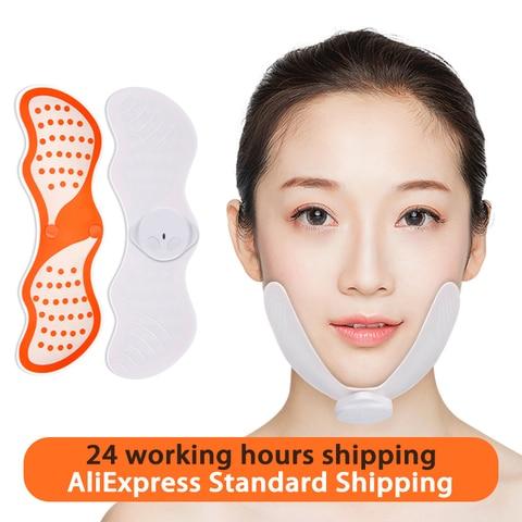 ems face lifting massager rosto emagrecimento estimulador muscular facial massageador reduzir queixo duplo pele lift