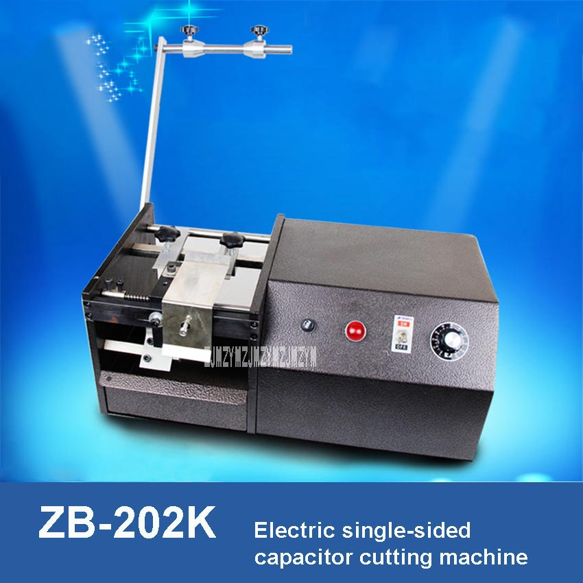 ZB 202K Electric Single sided Capacitor Cutting Machine Automatic Capacitor Shearing Machine Capacitor Cutter 220V 25W 0.6 1mm|Power Tool Sets|Tools - title=
