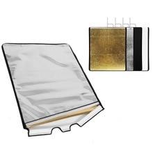 4 цвета панель ткань для видеостудии нержавеющая панель с флагом ткань Отражатель Диффузор Fotografia Acessorios камера Фотостудия