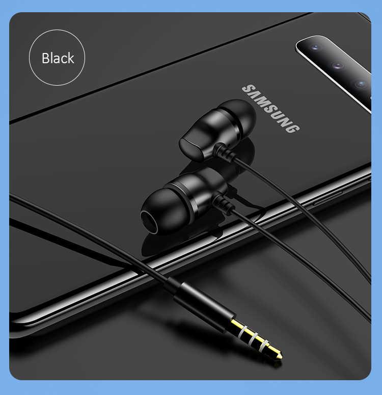 Metalowe słuchawki douszne drutu słuchawki uniwersalny ruchu blacha w rolce przewód sterowania douszne sportowe przenośne trwałe słuchawka do iPhone'a 6