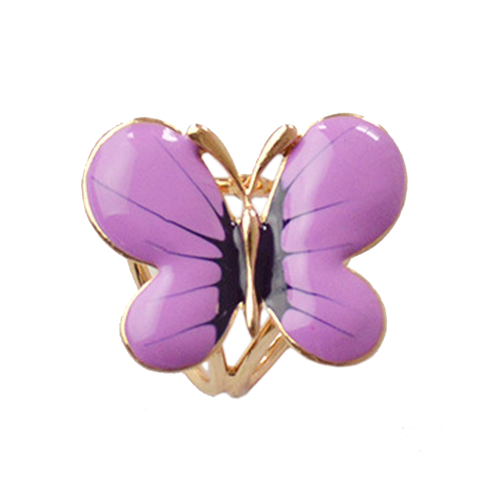 Women Girls Bouquet Scarf Brooch Pin Wedding Party Scarf Clip Butterfly Brooches Fashion Jewelry