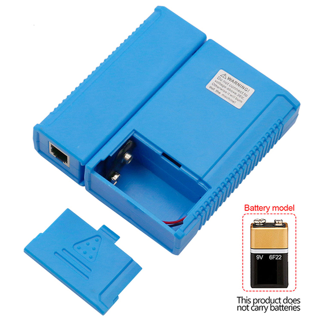 Professional RJ45 Cable lan tester Network Cable Tester RJ45 RJ11 RJ12 CAT5 CAT6 UTP LAN Cable Tester Networking Tool 5