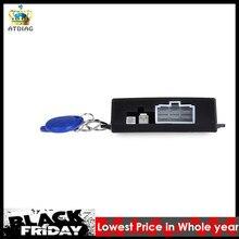 Автомобильная сигнализация, автомобильная кнопка запуска двигателя, RFID замок зажигания, стартер без ключа, запуск, остановка, иммобилайзер, противоугонная система