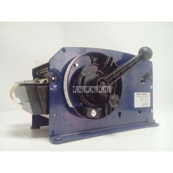 Dispensador semiautomático de cinta de papel Kraft, máquina cortadora de cinta de papel Kraft con solubilidad en agua para sellar F-1B de embalaje