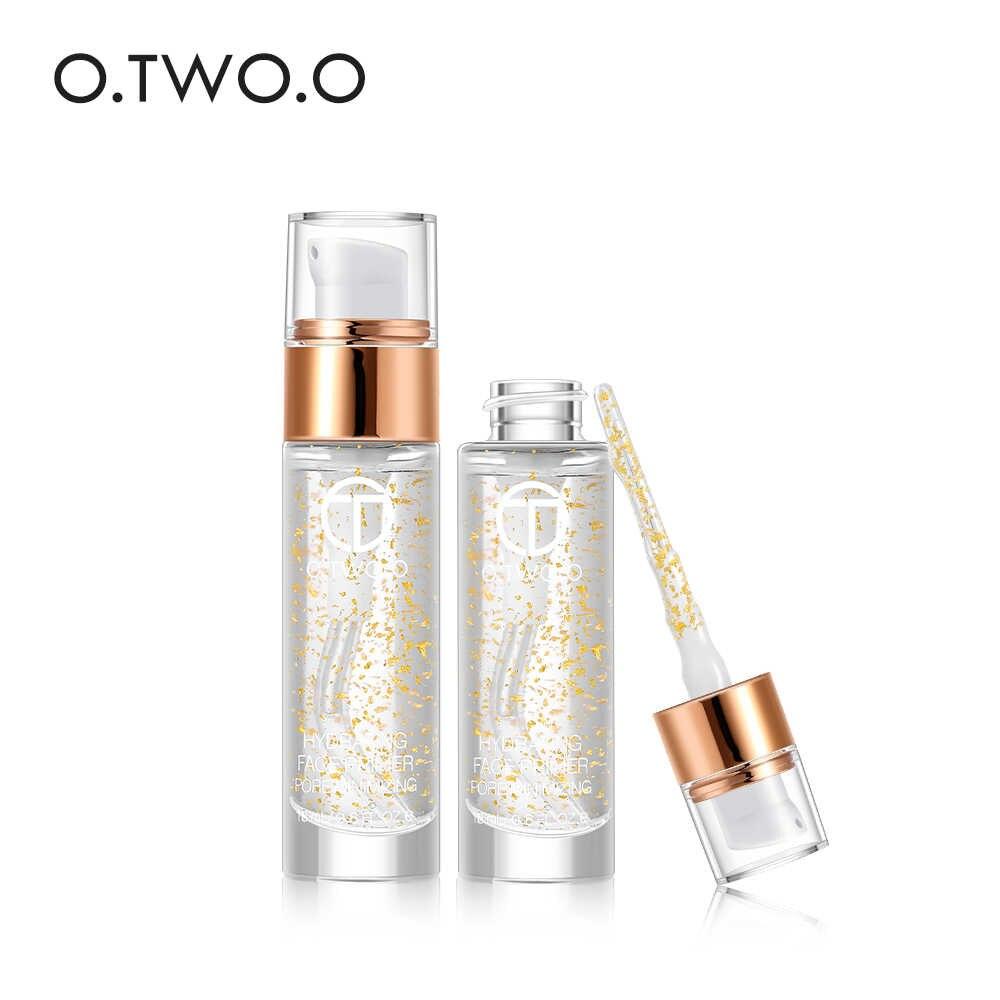 O. Dwóch. O profesjonalne 24k różowe złoto eliksir podkład do makijażu Anti-Aging nawilżający pielęgnacja twarzy olejek makijaż baza płyn 18ml 1