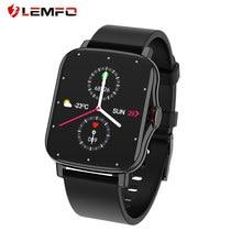 Reloj inteligente deportivo FM08 pk P8 Plus, resistente al agua IP67, con Bluetooth, llamadas, 1,7 pulgadas, presión arterial, oxígeno, gts 2