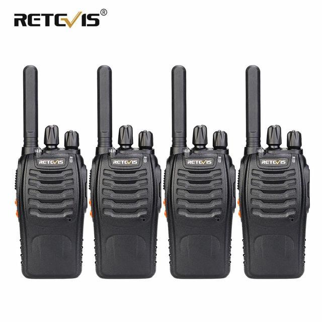 Walkie Talkie 4 stücke Retevis H777 Plus PMR446 Walkie Talkies PMR Radio FRS H777 Handliche Zwei Weg Radio station USB Lade Für Hotel