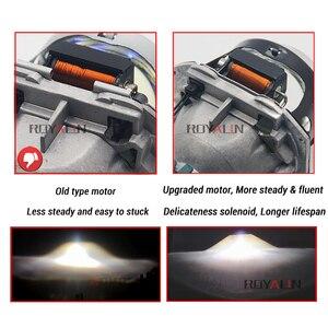 Image 3 - ROYALIN Full Metal D1S D2S D3S D4S Bi Xenon Headlight Lenses Blue For Hella 3R G5 Car Light Retrofit