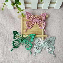 Красивая бабочка металлические пресс формы с бантом штанцевый