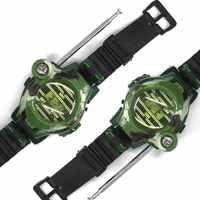 Камуфляжные военные часы Беспроводная рация игрушка семь в одном уличная детская рация игрушка