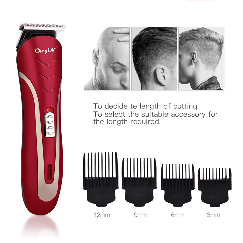Professional Haircut Cordless Hair Clipper And Electric Nose Hair Trimmer Men Cutter Hair Cutting Beard Razor Cleaning Machine 0