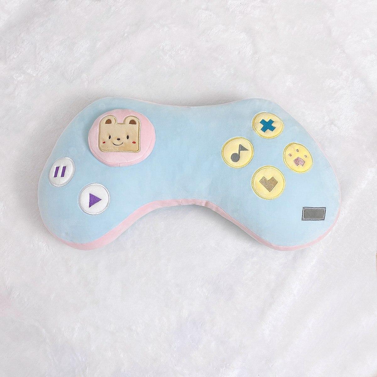 Kawaii Game Console Controller Pillow Plush 9