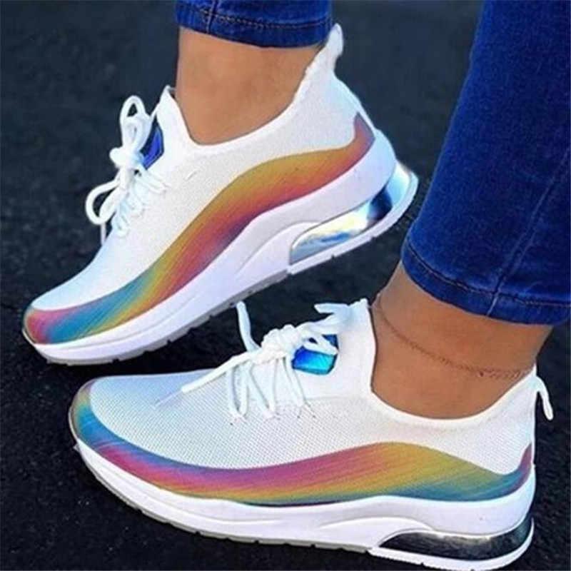 NAUSK 2020 Mới HOT! Mùa Xuân Và Mùa Thu Nữ Giày Lười Cho Nữ Thoải Mái Flat Cho Zapatos De Mujer Giày 35-43