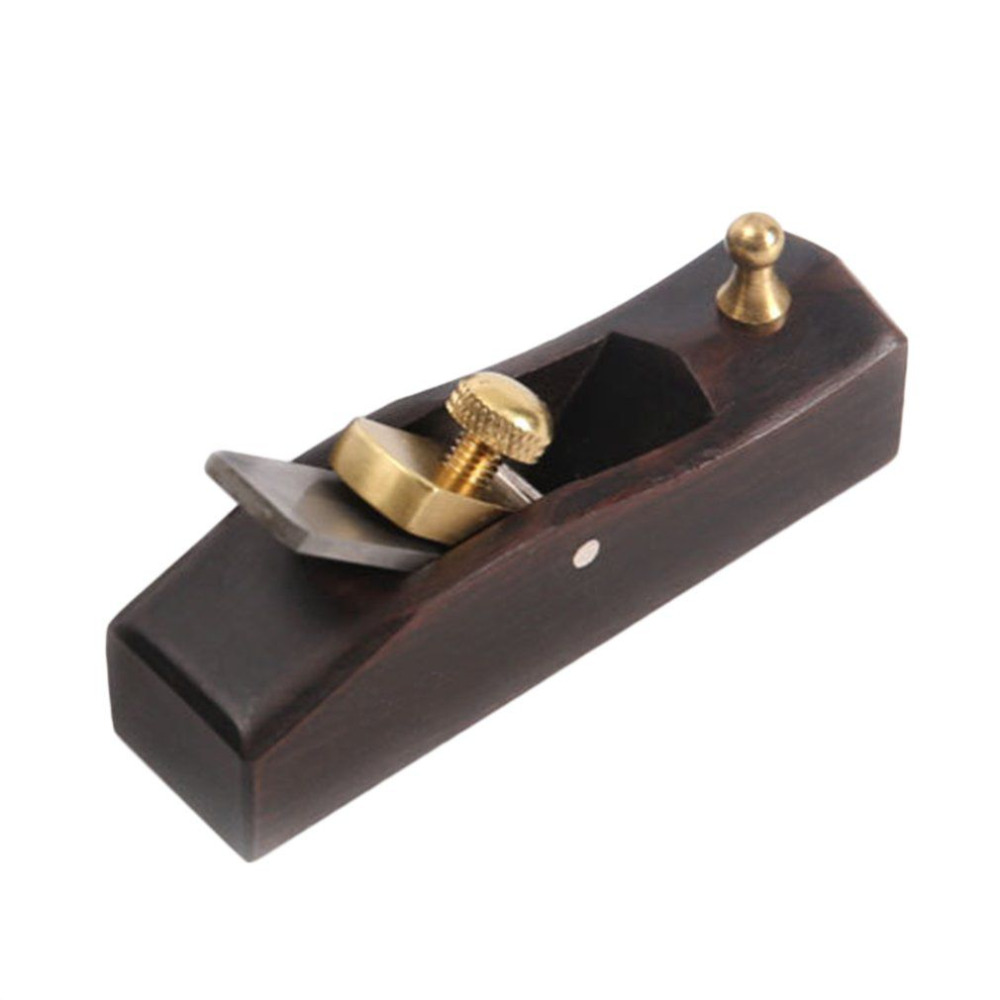 Mini Wood Hand Plane Easy Operated Ebony Woodworking Tool Durable Angle Plane Luthier Tool Violin Making Carpenter Tool