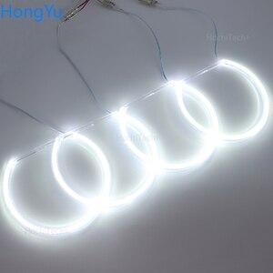 Image 4 - Kit de luces led para coche, iluminación excelente Ultra brillante smd, Ojos de Ángel, anillo halo, para BMW E46, sedan touring