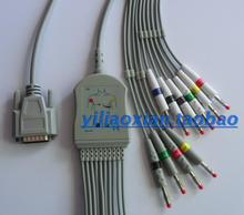 Bangjian Electrocardiograph ECG 300 ECG-1200 3010 6010 100 9803 Lead Wire contec8000g 12 lead 3 lead vector ecg workstation sync pc based software analyse