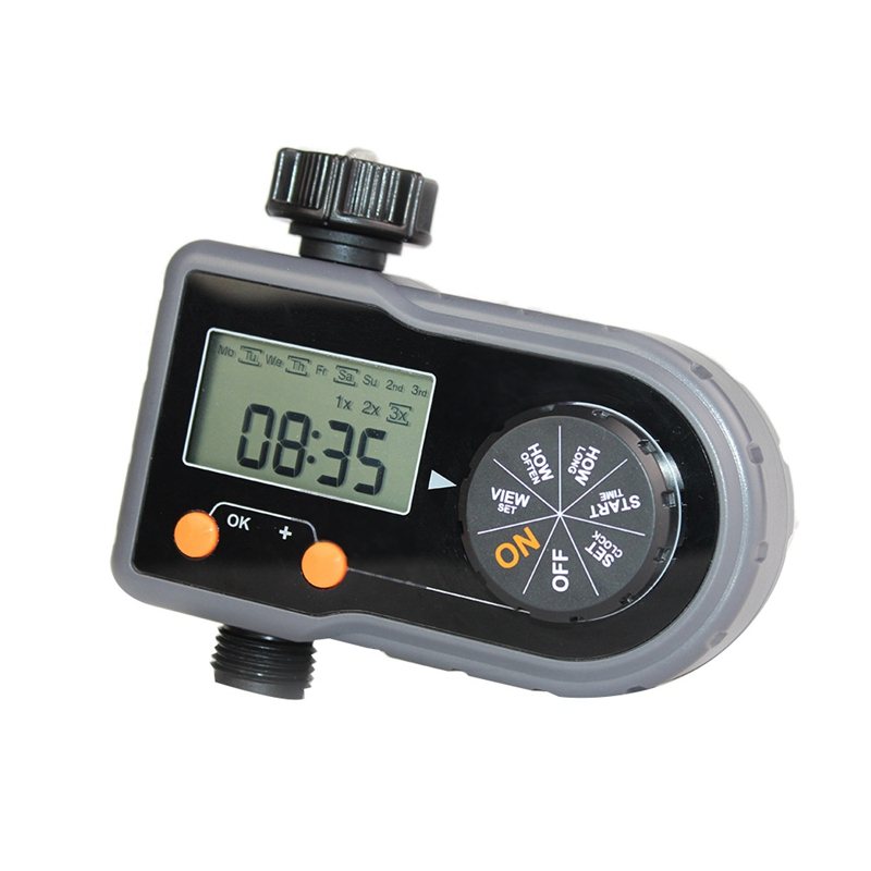 3/4 Inch Electronic Irrigation Controller Irrigation Timer Automatic Drip Watering Device|Garden Water Timers| |  - title=