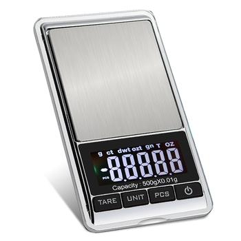 Mini kieszeń na biżuterię wagi o wysokiej precyzji złoty diament dokładny bilans wagi cyfrowe wagi elektroniczne tanie i dobre opinie Venmess CN (pochodzenie) Pocket scale 2* AAA bateries (not included) 115 x 65 x 15mm Jewelry Scale 0 5g-1kg 0 05g-500g