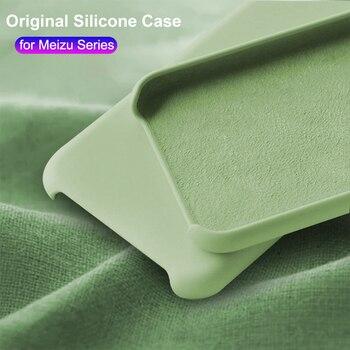 Перейти на Алиэкспресс и купить Силиконовый чехол OEING для Meizu 16 16th Plus X8 16X 16XS 16S 17 Pro, силиконовый чехол для телефона с фланелевой подкладкой, противоударный чехол