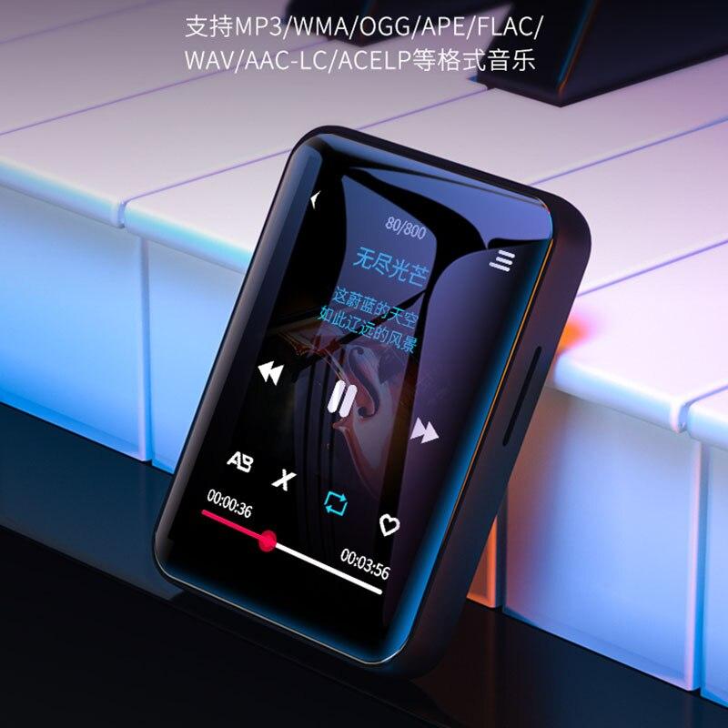 Benjie X1 Bluetooth MP4 Speler Touch Screen 8Gb 16Gb Muziekspeler Met Fm Radio Video Speler E-book Speler MP3 Met Luidspreker 4
