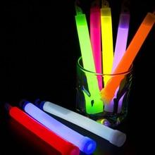 15 см промышленные светящиеся палочки вечерние светящиеся химические флюоресцентные палочки для Хэллоуина подвесные декоративные кемпинговые аварийные огни