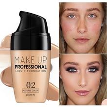 Face Concealer Cream Contour Corrector Liquid Foundation Whitening Natural Contouring Makeup Cover Ance Base Cosmetics