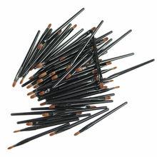 20/50Pcs Makeup Cosmetic Tool Disposable Lip Brush Gloss Wands Applicator недорого