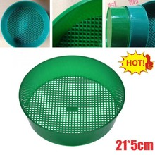 Gardening-Tool Balcony Plastic Soil-Stone Mesh Planting Green for Filtration-Light Fine-Mesh-Sieve