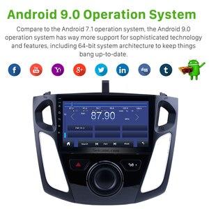 Image 2 - Seicane 9 Pollici Android 9.0 Lettore Multimediale Autoradio Per Il 2011 2012 2013 2015 Ford Focus Stereo Supporto Bluetooth WIFI USB OBD2