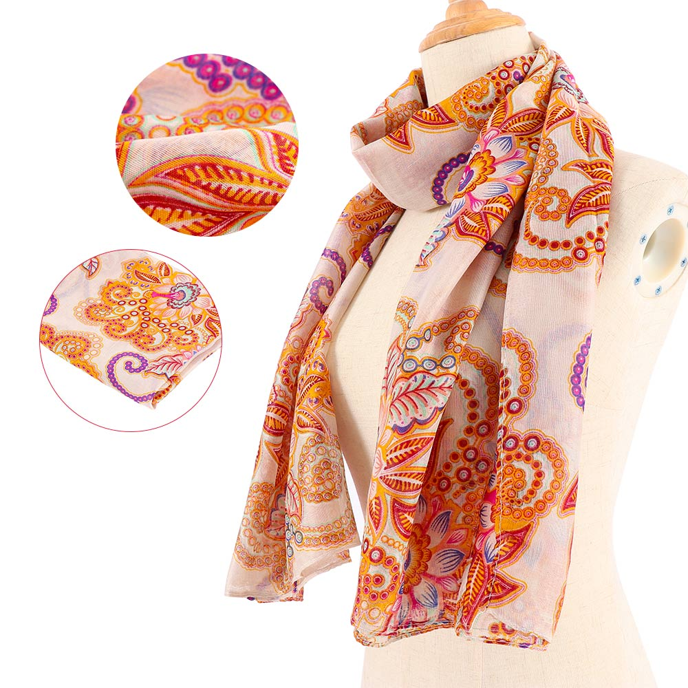 Women Summer Long Sunscreen Soft Chiffon Scarves Shawl Neck Wrap Scarf Stole USA