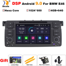 DSP Hexa Core Android 9.0 4+64G Car GPS Radio stereo For BMW E46 M3 318/320/325/330/335 Land Rover 75 3 Series dvd player NAVI(China)