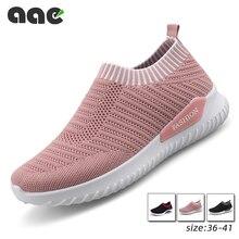 2021 New Women Vulcanized Womens Shoes Casual Sneakers Slip on Running Shoe Tenis Feminino Zapatos De Zapatillas Mujer Plus Size