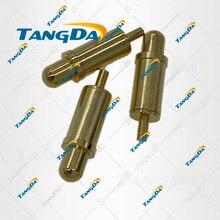 新しいpogopin春針コンタクトピン電流針信号ピン5*17.5ミリメートル5 17.5 tangda t