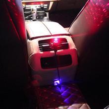 12 В постоянного тока 3 Вт ABS декоративный окружающий красный цвет проектор Авто Интерьер атмосфера звезды светодиодный свет сценическая лампа полосы