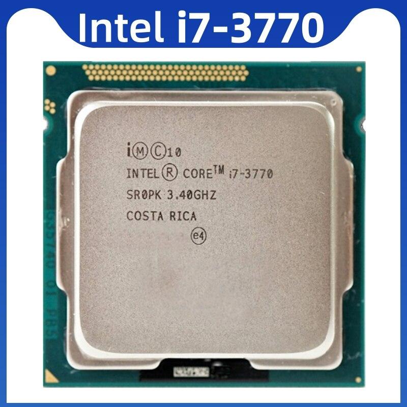 Intel core i7-3770 i7 3770 3.4 ghz processador cpu quad-core 8m 77w lga 1155