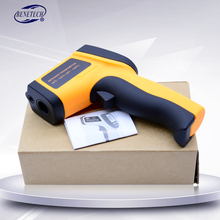 BENETECH Digital handheld gun non contact infrared thermometer laser Pyrometer professional industrial temperature gun ir