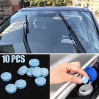 Limpiador de vidrios del parabrisas para coche, tableta efervescente para Ford Focus kuga Fiesta Mondeo Ecosport Skoda octavia Fabia Rapid Yeti, 10 uds.