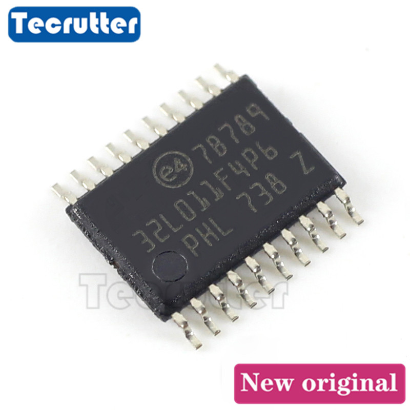 10PCS STM32L011F4P6 MCU 32BIT 16KB FLASH TSSOP20  32L011F4P6 STM32L011