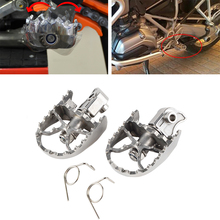 Motorcycle Foot Pegs Front Wide Footrest For BMW R1150GS R1250GS R1200GS Adv ADVENTURE F/G650GS F700 F800GS