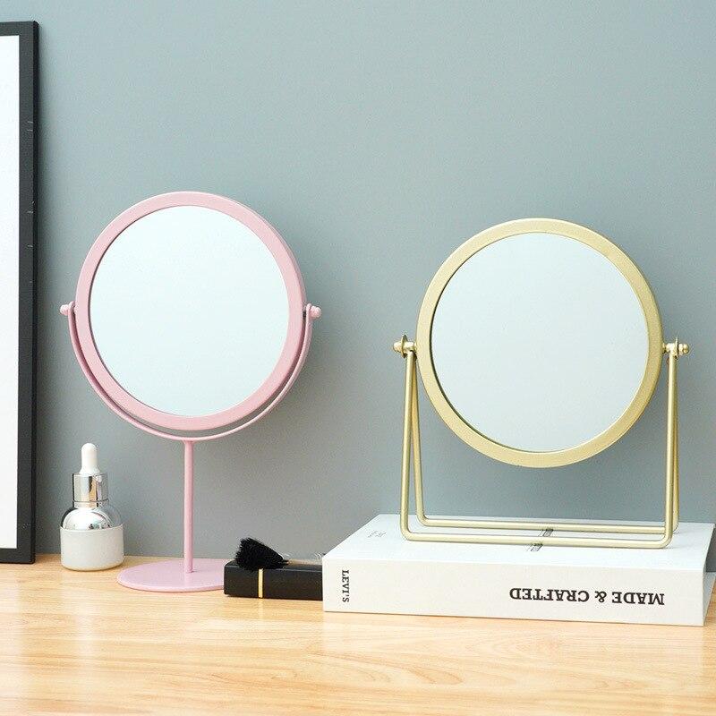 Retro European Light Luxury Makeup, Luxury Makeup Mirror With Lights