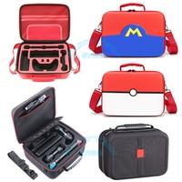 Per Nintendo Switch EVA custodia protettiva rigida custodia NS custodia da viaggio Deluxe nera per Console di gioco Nintendo Switch